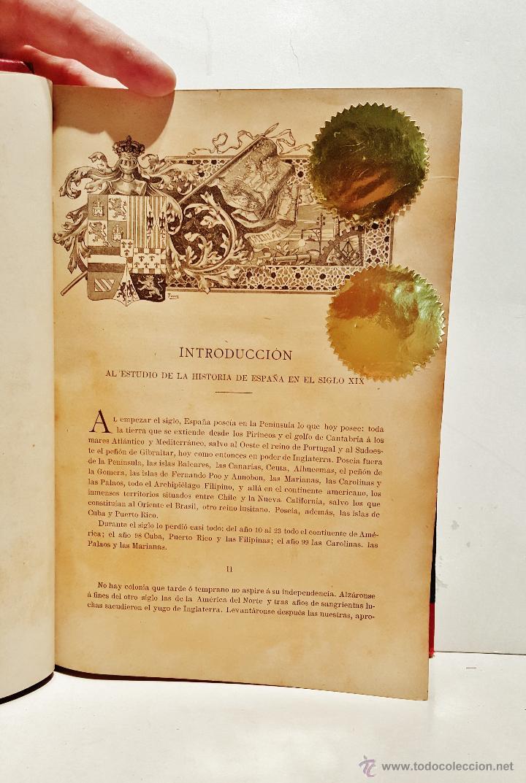 Libros antiguos: Historia de España en el s. XIX. F.Pi y Margall y F.Pi y Arsuaga. 8 tomos ilustrados. Barcelona 1902 - Foto 4 - 50585838