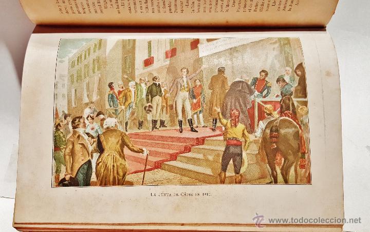 Libros antiguos: Historia de España en el s. XIX. F.Pi y Margall y F.Pi y Arsuaga. 8 tomos ilustrados. Barcelona 1902 - Foto 6 - 50585838