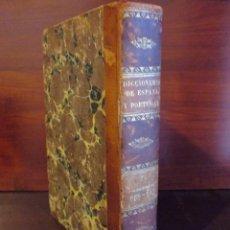 Libros antiguos: 1827. DICCIONARIO ESTADÍSTICO GEOGRÁFICO ESPAÑA Y PORTUGAL. SEBASTIÁN MIÑANO. TOMO VII. Lote 50600038