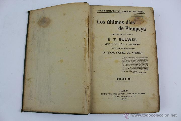 l 1990 los ultimos dias de pompeya tomo ii comprar On libros sobre pompeya