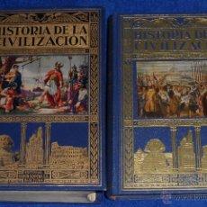 Libros antiguos: HISTORIA DE LA CIVILIZACIÓN - BIBLIOTECA HISPANIA - RAMÓN SOPENA (1934 - 1958). Lote 50677790