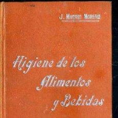 Libros antiguos: MANUALES SOLER Nº 48 : MADRID MORENO - HIGIENE DE LOS ALIMENTOS Y BEBIDAS. Lote 50699847