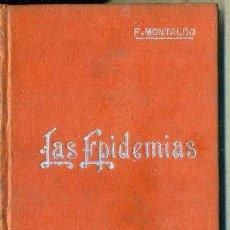 Libros antiguos: MANUALES SOLER Nº 30 : MONTALDO - LAS EPIDEMIAS. Lote 50699949