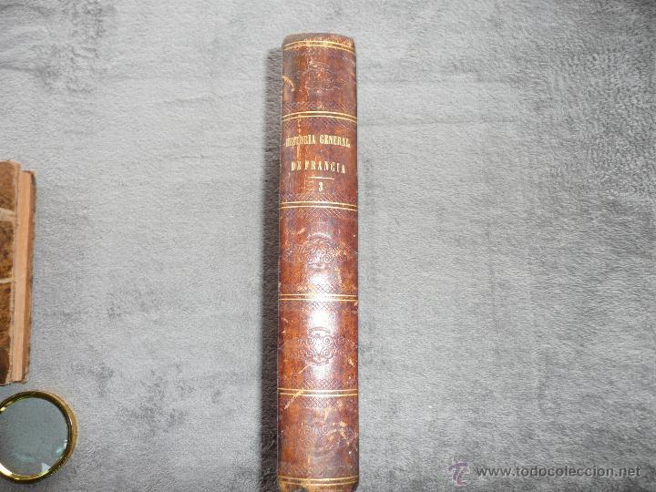 HISTORIA GENERAL DE FRANCIA. TOMO III, 1854. LA RESTAURACIÓN. A. LAMARTINE LIBRERIA ESPAÑOLA . BCN (Libros Antiguos, Raros y Curiosos - Ciencias, Manuales y Oficios - Otros)
