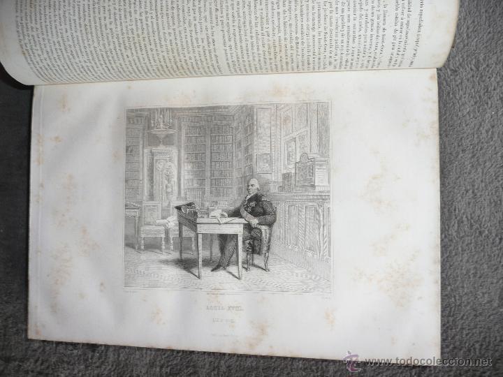 Libros antiguos: HISTORIA GENERAL DE FRANCIA. TOMO III, 1854. LA RESTAURACIÓN. A. LAMARTINE LIBRERIA ESPAÑOLA . BCN - Foto 8 - 50725982