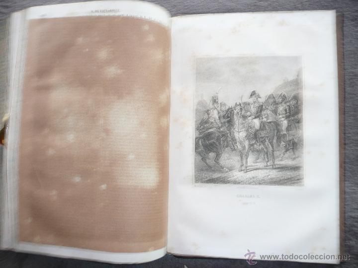 Libros antiguos: HISTORIA GENERAL DE FRANCIA. TOMO III, 1854. LA RESTAURACIÓN. A. LAMARTINE LIBRERIA ESPAÑOLA . BCN - Foto 16 - 50725982