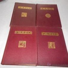 Libros antiguos: INICIACIÓN AL ESTUDIO DE LA HISTORIA 4 TOMOS. Lote 50729015