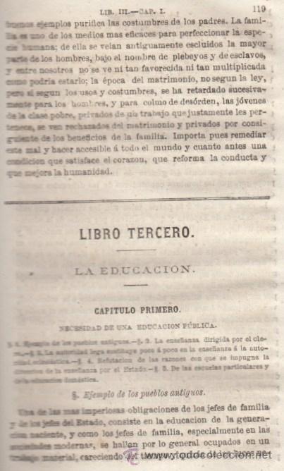 Libros antiguos: LA MORAL SOCIAL O DEBERES DEL ESTADO Y LOS CIUDADANOS ADOLFO GARNIER ED IMPRENTA DE LUIS TASO 1858 - Foto 5 - 50755423