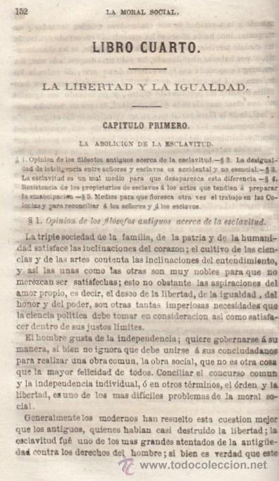 Libros antiguos: LA MORAL SOCIAL O DEBERES DEL ESTADO Y LOS CIUDADANOS ADOLFO GARNIER ED IMPRENTA DE LUIS TASO 1858 - Foto 6 - 50755423
