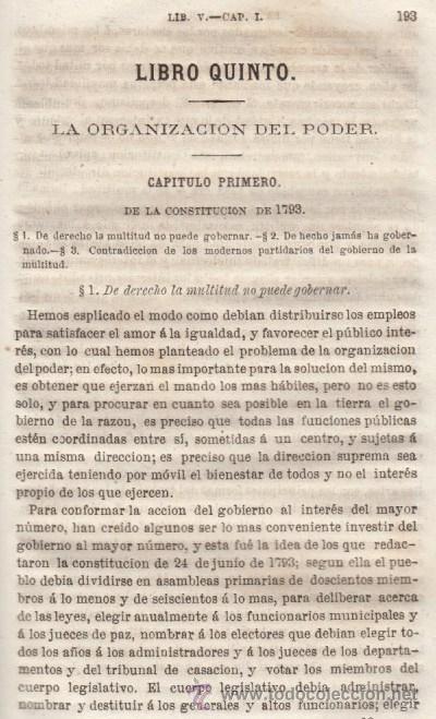 Libros antiguos: LA MORAL SOCIAL O DEBERES DEL ESTADO Y LOS CIUDADANOS ADOLFO GARNIER ED IMPRENTA DE LUIS TASO 1858 - Foto 7 - 50755423