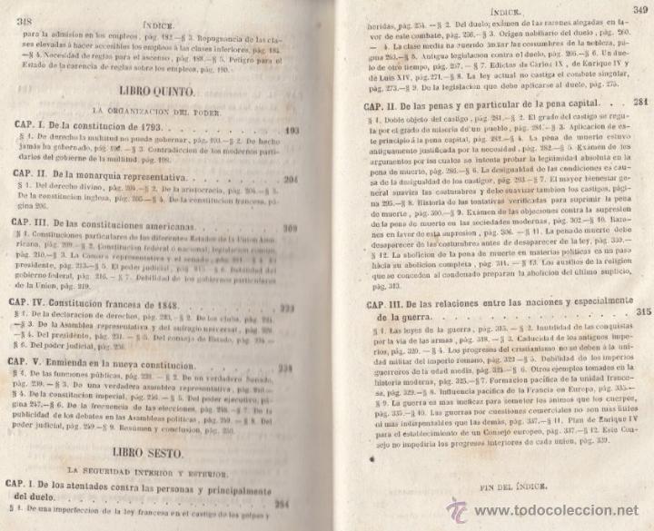 Libros antiguos: LA MORAL SOCIAL O DEBERES DEL ESTADO Y LOS CIUDADANOS ADOLFO GARNIER ED IMPRENTA DE LUIS TASO 1858 - Foto 11 - 50755423