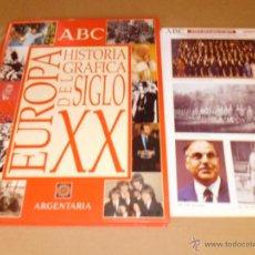 Libros antiguos: HISTORIA GRÁFICA DEL SIGLO XX EUROPA ABC. Lote 50803677