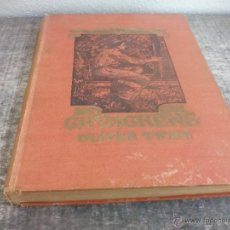 Libros antiguos: OLIVER TWIST SAMFUNDSROMAN ANTIGUO LIBRO DE 1898 BY DICKENS CHARLES VILH MØLLER J MAHONEY BOOK OLD. Lote 50814824