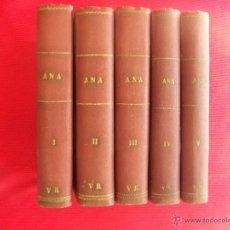 Libros antiguos: ANA G. AUBRY - TOMOS I, II, III, IV, V. Lote 195461228