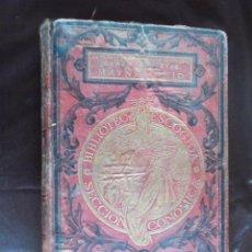 Libros antiguos: OBRAS COMPLETAS DE MAYNE REID (20 OBRAS) AL FINAL CREO QUE FALTAN HOJAS. Lote 50824337