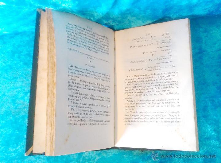 Libros antiguos: ESSAI SUR LA RESISTANCE DES BOIS DE CONSTRUCTION, PETER BARLOW, A. FOURIER 1828 - Foto 4 - 50858480