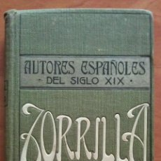 Libros antiguos: 1910? EL PUÑAL DEL GODO .- ZORRILLA. Lote 204738195