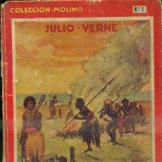 Libros antiguos: JULIO VERNE : ESCUELA DE ROBINSONES (MOLINO, 1934) TAPA DURA. Lote 50920029