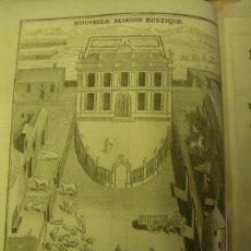 Libros antiguos: LA NUEVA MANSIÓN RUSTICA, Y ECONOMÍA RURAL, EN FRANCÉS LOUIS RIGER EDICIÓN 1790 FRANCIA PARÍS. Lote 50930431