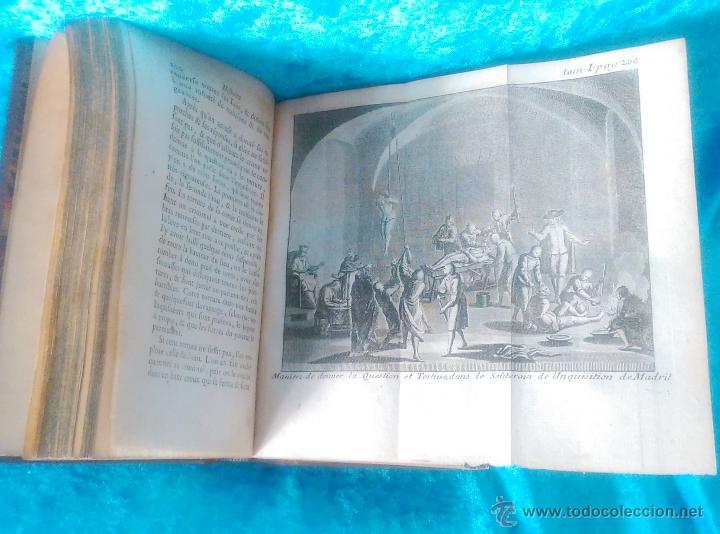 Libros antiguos: HISTOIRE DES INQUISITIONS, ABBE JACQUES MARSOLLIER 1759 (VOL 2), 1769 (VOL 1) - Foto 3 - 50942717