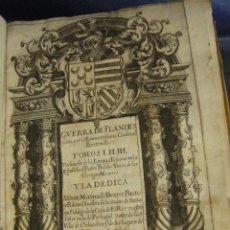 Libros antiguos: LIBRO GUERRA DE FLANDES ESCRITA POR EL EMINENTISSIMO CARDENAL BENTIVOLLO. TOMOS I. II. III. AÑO1643. Lote 50946310