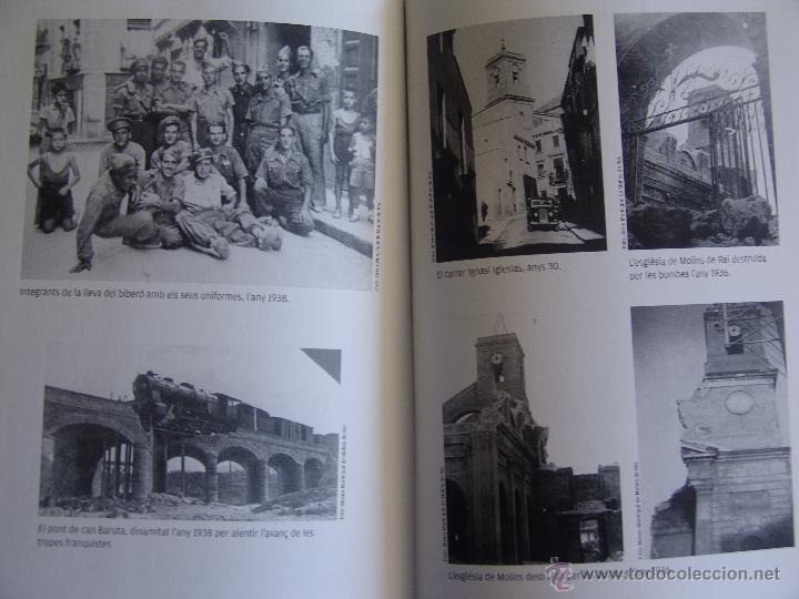 Libros antiguos: UN BIBERO A LA GUERRA JOSEP RIERA AMBROS HISTORIA DEL FETS PASAT PER MI GUERRA CIVIL MOLINS DE REI - Foto 5 - 93791758