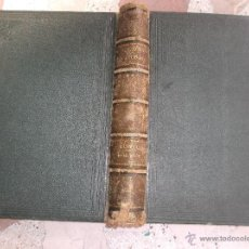 Libros antiguos: LA CREACION HISTORIA NATURAL TOMO-1 ,MAMIFEROS,1872,MONTANER Y SIMON EDITORES, 34X26,880,PAGINAS,. Lote 51009107