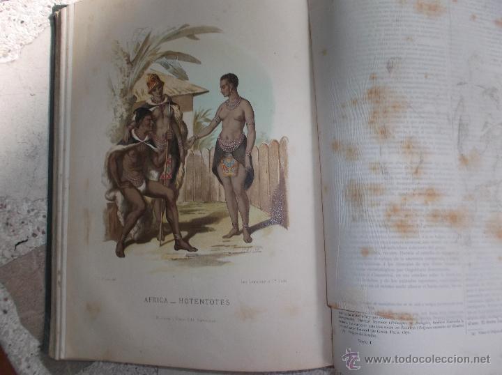 Libros antiguos: la creacion historia natural tomo-1 ,mamiferos,1872,montaner y simon editores, 34x26,880,paginas, - Foto 3 - 51009107