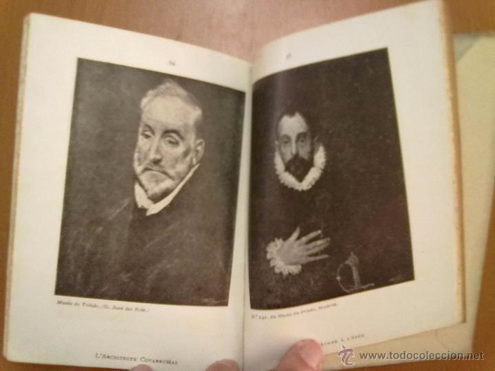 Libros antiguos: LE GRECO POR MIGUEL UTRILLO 18 PAGINAS + 50 LAMINAS TEXTO EN FRANCES - Foto 3 - 51011308