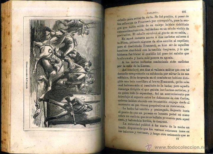 Libros antiguos: RODRIGUEZ ARISMENDI : INSURRECCIÓN CARLISTA DE 1872 TOMO I (MADRID, 1872) - Foto 4 - 51023154