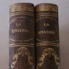 Libros antiguos: LA ENVIDIA - HISTORIA DE LOS PEQUEÑOS - 2 TOMOS - AÑO 1865. Lote 51054725