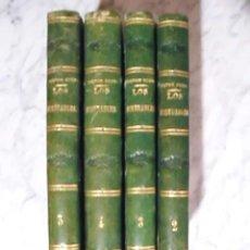 Libros antiguos: OBRA MAESTRA - LOS MISERABLES - VICTOR HUGO- EDICIÓN DE 1865 - 4 TOMOS. Lote 51129071