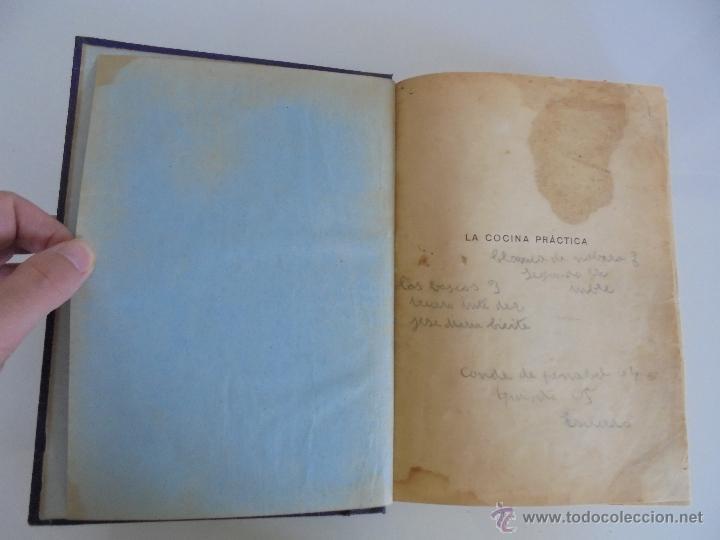 Libros antiguos: LA COCINA PRACTICA. MANUEL MARIA PUGA Y PARGA. PICADILLO. IMPRENTA ROEL. POSIBLEMENTE 1916. - Foto 9 - 51143823