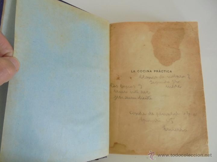 Libros antiguos: LA COCINA PRACTICA. MANUEL MARIA PUGA Y PARGA. PICADILLO. IMPRENTA ROEL. POSIBLEMENTE 1916. - Foto 10 - 51143823