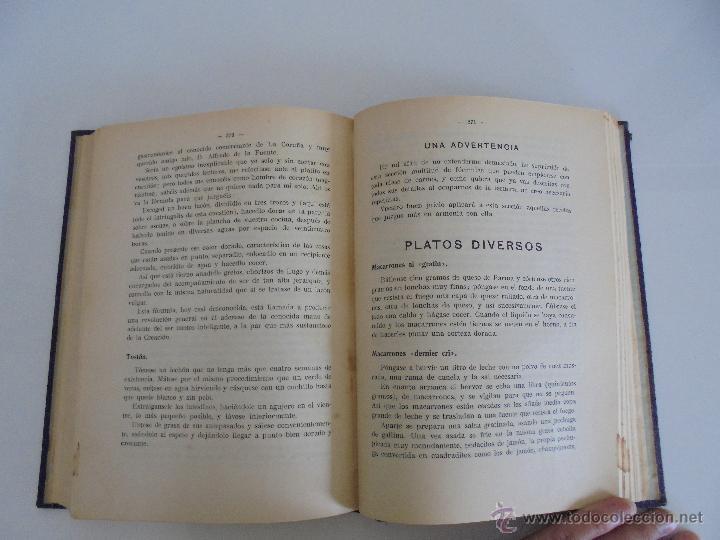Libros antiguos: LA COCINA PRACTICA. MANUEL MARIA PUGA Y PARGA. PICADILLO. IMPRENTA ROEL. POSIBLEMENTE 1916. - Foto 17 - 51143823