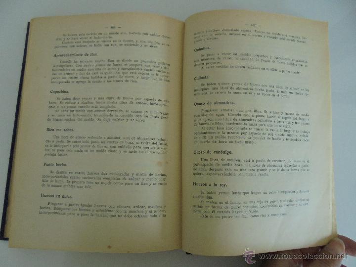 Libros antiguos: LA COCINA PRACTICA. MANUEL MARIA PUGA Y PARGA. PICADILLO. IMPRENTA ROEL. POSIBLEMENTE 1916. - Foto 19 - 51143823