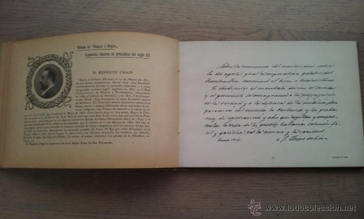 Libros antiguos: ALBUM DE ESPAÑOLES ILUSTRES DE PRINCIPIOS DEL SIGLO XX - Foto 4 - 51188407