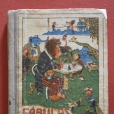 Libros antiguos: FÁBULAS EN VERSO CASTELLANO PARA EL USO DE LAS ESCUELAS DE INSTRUCCION PRIMARIA. F. M. SAMANIEGO. Lote 51191450