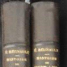 Libros antiguos: HISTOIRE DE HUIT ANS 1840-1848 / ELIAS REGNAUL / 2 TOMOS ,( FALTO DEL 3º) / MUNDI-751. Lote 51226457