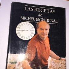 Libros antiguos: LAS RECETAS DE MICHEL MONTIGNAC. Lote 51233947