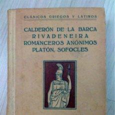 Libros antiguos: LIBRERÍA DE AUTORES SELECTOS. CLÁSICOS GRIEGOS Y LATINOS. ED. PERELLÓ ( VOL I, II, III, IV, V ). Lote 51257165