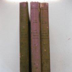 Libros antiguos: LES DIADES POPULARS CATALANES. JOAN AMADES. VOLUM I,II Y III. EDITORIAL BARCINO 1932.. Lote 51330671