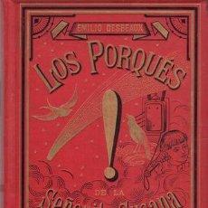 Libros antiguos: DESBEAUX, EMILIO: LOS PORQUES DE LA SEÑORITA SUSANA. CON ILUSTRACIONES DE LOS MÁS NOTABLES ARTISTAS. Lote 51346634