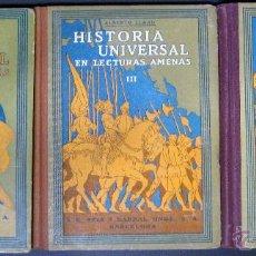 Libros antiguos: ALBERTO LLANO. HISTORIA UNIVERSAL EN LECTURAS AMENAS. 1932. Lote 51363005