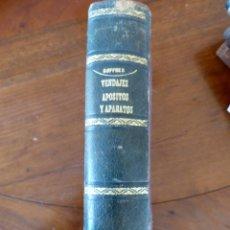 Libros antiguos: MANUAL INCONOGRÁFICO DE VENDAJES, APÓSITOS Y APARATOS POR GOFRES 1864. Lote 51369946