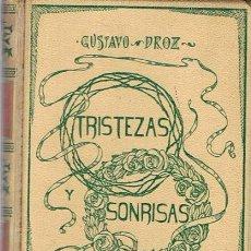 Libros antiguos: TRISTEZAS Y SONRISAS GUSTAVO DROZ. Lote 51385073