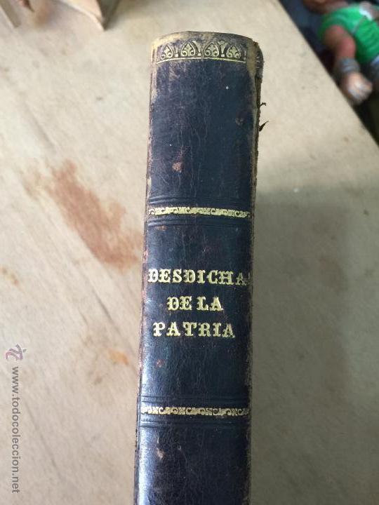 Libros antiguos: Las desdichas de la patria - Vital Fite 1899 - Foto 3 - 51393343