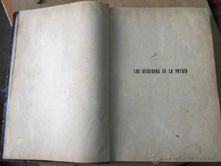 Libros antiguos: Las desdichas de la patria - Vital Fite 1899 - Foto 4 - 51393343