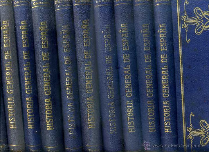CARCER DE MONTALBÁN : HISTORIA GENERAL DE ESPAÑA Y NACIONES AMERICANAS QUE FUERON ESPAÑOLAS 10 TOMOS (Libros Antiguos, Raros y Curiosos - Historia - Otros)