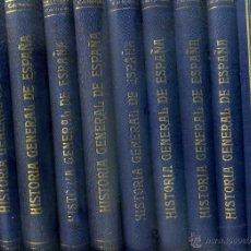 Libros antiguos: CARCER DE MONTALBÁN : HISTORIA GENERAL DE ESPAÑA Y NACIONES AMERICANAS QUE FUERON ESPAÑOLAS 10 TOMOS. Lote 51405123